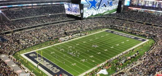 My view of the Cowboys game