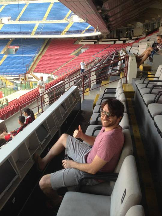 Me at the San Siro