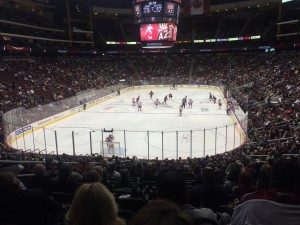 Coyotes home game